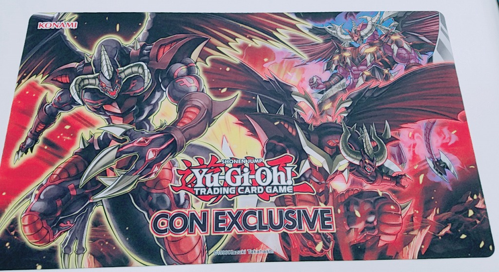 [Limited] プレイマット えん魔竜 レッド・デーモン/アビス/ベリアル CON EXCLUSIVE