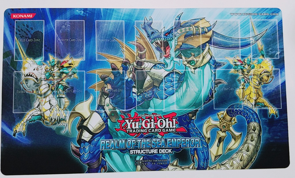 [Limited] プレイマット Realm of the Sea Emperor
