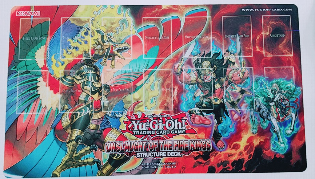 [Limited] プレイマット Onslaught of the Fire Kings