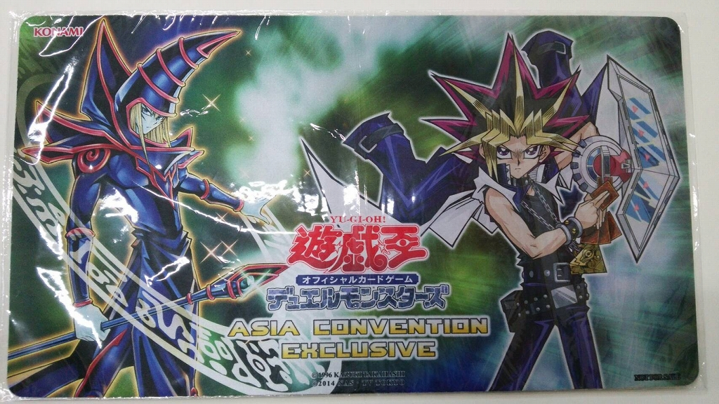 [Limited]プレイマットASIA Convention Exclusive 武藤遊戯&ブラック・マジシャン