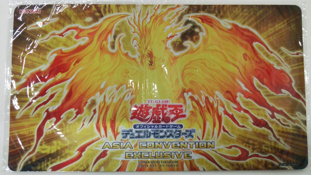 [Limited]プレイマットASIA Convention Exclusive ラーの翼神竜-不死鳥